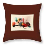 Watercolor 17 Throw Pillow