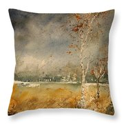 Watercolor  190307 Throw Pillow