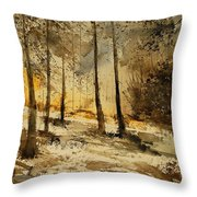Watercolor  191106 Throw Pillow