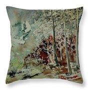 Watercolor 200307 Throw Pillow