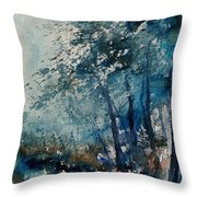 Watercolor  220907 Throw Pillow