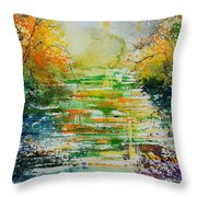 Watercolor  230507 Throw Pillow