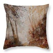 Watercolor  250908 Throw Pillow