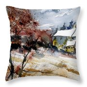 Watercolor  251205 Throw Pillow