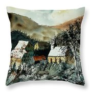 Watercolor  260107 Throw Pillow