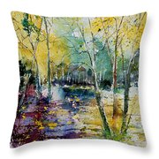 Watercolor 280809 Throw Pillow