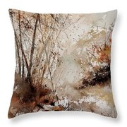 Watercolor  290808 Throw Pillow