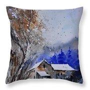 Watercolor 45512113 Throw Pillow