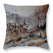 Watercolor 900140 Throw Pillow