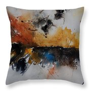 Watercolor 901150 Throw Pillow