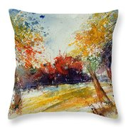 Watercolor 902010 Throw Pillow