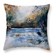 Watercolor 902021 Throw Pillow