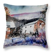 Watercolor 902080 Throw Pillow
