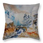 Watercolor  902102 Throw Pillow