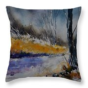 Watercolor  902111 Throw Pillow