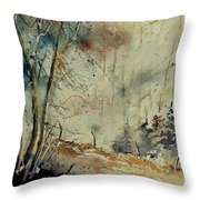 Watercolor  902190 Throw Pillow