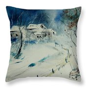 Watercolor 905001 Throw Pillow