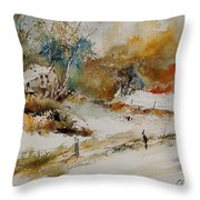 Watercolor 905061 Throw Pillow
