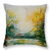 Watercolor 905081 Throw Pillow