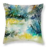 Watercolor  906020 Throw Pillow