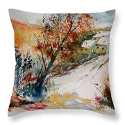 Watercolor 908002 Throw Pillow