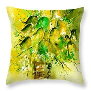 Watercolor 90801 Throw Pillow