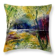 Watercolor  908010 Throw Pillow