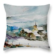 Watercolor  908011 Throw Pillow