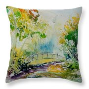Watercolor  908020 Throw Pillow