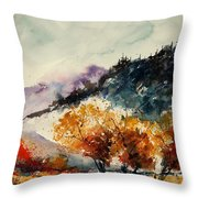 Watercolor  908041 Throw Pillow