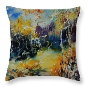 Watercolor  909052 Throw Pillow