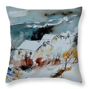 Watercolor  9090723 Throw Pillow