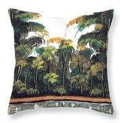 Watercolor 97 Throw Pillow