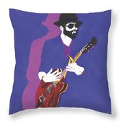 Watercolor And Digital Throw Pillow