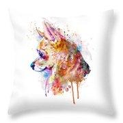 Watercolor Chihuahua  Throw Pillow