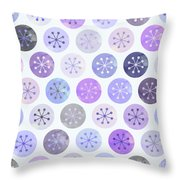 Watercolor Lovely Pattern II Throw Pillow