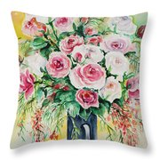 Watercolor Series 10 Throw Pillow