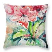Watercolor Series 139 Throw Pillow