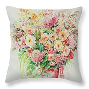 Watercolor Series 14 Throw Pillow