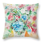 Watercolor Series 140 Throw Pillow