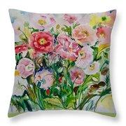 Watercolor Series No. 258 Throw Pillow