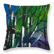 Watercolor_245 Throw Pillow