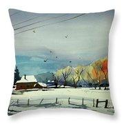 Watercolor_3508 Throw Pillow