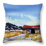 Watercolor3557 Throw Pillow