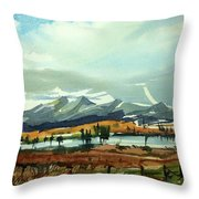 Watercolor3574 Throw Pillow