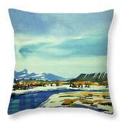 Watercolor3798 Throw Pillow