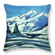 Watercolor3977 Throw Pillow
