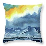 Watercolor3987 Throw Pillow