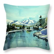 Watercolor4215 Throw Pillow