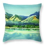 Watercolor4469 Throw Pillow